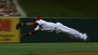 Desmond's amazing catch
