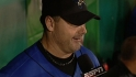 Clemens on second Skeeters start