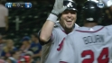 Hinske's solo home run