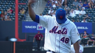 Francisco activated, gets win in first outing of season