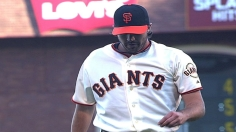 Zito stifles Dodgers to give Giants breathing room