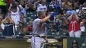 Chipper receives ovation