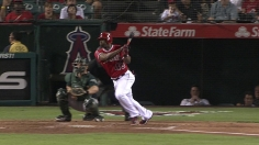 Angels' winning streak falls in duel with A's