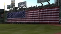 Boston F.D. sings anthem