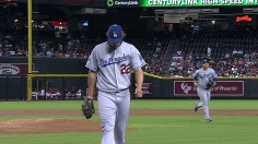 Kershaw ends up on wrong side of duel in Phoenix