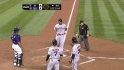 Bumgarner's three-run blast