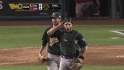 Blevins saves A&#039;s
