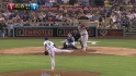 Beckett escapes bases-loaded jam