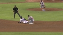 Molina throws out Gordon