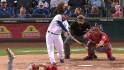 Moustakas&#039; 20th homer