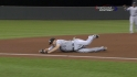 Youkilis&#039; diving grab