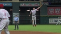 Utley's leaping catch