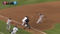 Kemp throws Molina out at third