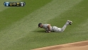 Peralta's diving catch