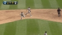 Infante&#039;s barehanded play