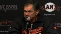 Bochy on Bumgarner's outing