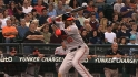 Jones&#039; three-hit game