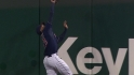 Brantley's leaping grab