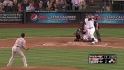 Olivo&#039;s two-run blast