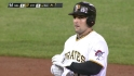 McKenry doubles to center
