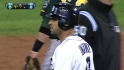 Infante's two-run double