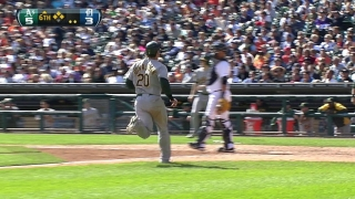 Kottaras drives in two with a triple