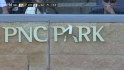Snider breaks PNC Park sign