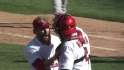 Motte slams the door