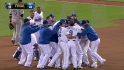 Hosmer's walk-off single