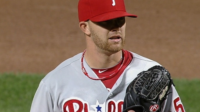 Cloyd called up to fill void in Phillies' rotation