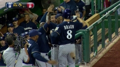 Brewers close Wild Card gap with rally vs. Nats