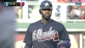 Heyward&#039;s three-run double