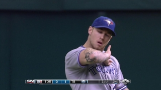 Lawrie makes a great catch