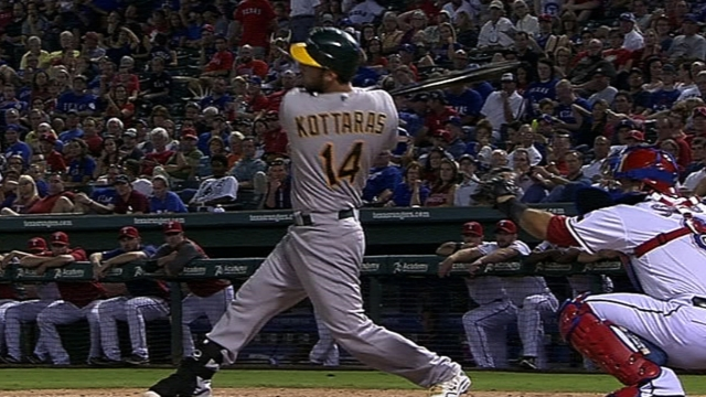 A's, Kottaras avoid arbitration with one-year deal