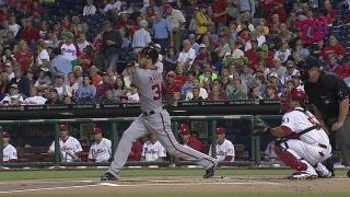 Harper hits a two-run shot