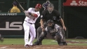 Aybar's two-run double