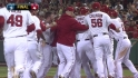 Hunter's walk-off single