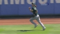Reddick&#039;s running grab