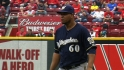 Peralta&#039;s scoreless outing
