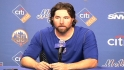 Dickey reacts to his 20th win