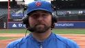 Dickey chats with the Network