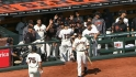 Giants' six-run second
