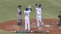 Lawrie's two-run dinger