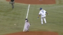 Swisher's unassisted double play