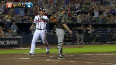Uggla, Braves extend hot streak, win fifth straight