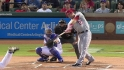Trout's leadoff homer
