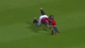 Heyward&#039;s excellent catch