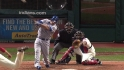 Moustakas&#039; two-run double