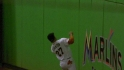 Stanton&#039;s running catch