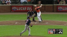 Machado's late HR has O's tied for first in East